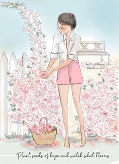Hello Weekend, Planting Seeds, Cute Illustration, Girl Quotes, Mom Qoutes, Happy Quotes, Woman Quotes, Cute Designs, Beautiful Pictures