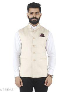 Checkout this latest Ethnic Jackets Product Name: * Ethnic Formal Cum Wedding Nehru Jacket* Sizes:  S, XXXL Easy Returns Available In Case Of Any Issue   Catalog Rating: ★4 (323)  Catalog Name: New Stylish Men's Ethnic Jackets CatalogID_547053 C66-SC1202 Code: 255-3889421-7341