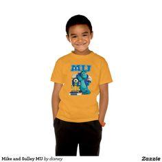 Monsters University - Your Custom Kids' Basic Hanes Tagless ComfortSoft® T-Shirt. Producto disponible en tienda Zazzle. Vestuario, moda. Product available in Zazzle store. Fashion wardrobe. Regalos, Gifts. #camiseta #tshirt