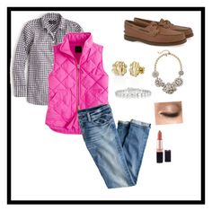 """""""Can wait till fall"""" by a-l-l-i-e-k ❤ liked on Polyvore featuring Sperry Top-Sider, J.Crew, My Name Necklace and Collette Z"""