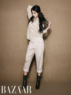 Singer BoA has unveiled a fresh pictorial perfect for the Spring through Harper's Bazaar magazine.For her shoot, BoA was dressed in Thyeskin's T… J Pop, Korean Celebrities, Celebs, Tall Girl Fashion, Fashion Women, Women's Fashion, Florida Girl, Actor Model, Korean Singer