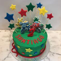 Tarta buttercream, motos y estrellitas. Birthday Cake, Cupcakes, Desserts, Fondant Cakes, Lolly Cake, Candy Stations, One Year Birthday, Motorbikes, Tailgate Desserts