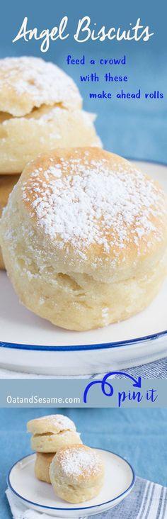 Angel Biscuits - Soft Mini Rolls