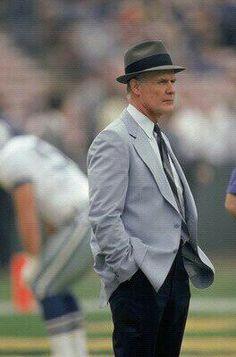Tom Landry Dallas Cowboys Coaches, Tom Landry, A Good Man, Nfl, Sports, Texas, Icons, Guys, People