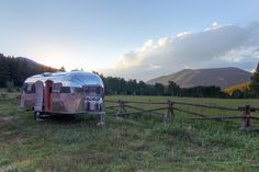 Restored 1954 Airstream Flying Cloud Travel Trailer