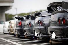 Nissan Skyline R32 GTR, R33 GTR, R34 GTR via 7tune.