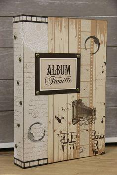 """Scrapistelle """"Album de Famille"""" de 20x30 cm"""