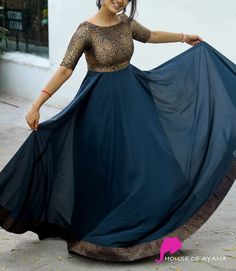 Gown Party Wear, Party Wear Lehenga, Long Gown Dress, Sari Dress, Designer Evening Gowns, Designer Gowns, Frock Fashion, Women's Fashion Dresses, Western Wear Dresses