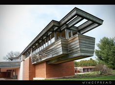 Wingspread, Frank Lloyd Wright, 1937 | Recent Photos The Commons Getty Collection Galleries World Map App ...