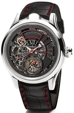 7df209c6b41 Montblanc Timewriter II Chronographe Bi-Frequence 1000 Relógio Moderno
