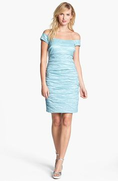 Alex Evenings Stretch Taffeta Cocktail Dress available at #Nordstrom