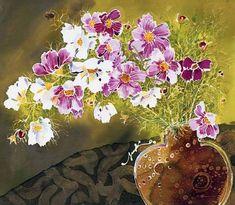 Batik by Japanese artist Yuko Nakata