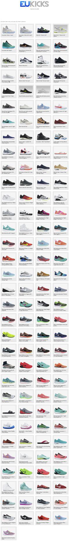 Nike.comEurope: 2015 Week 12 Releases