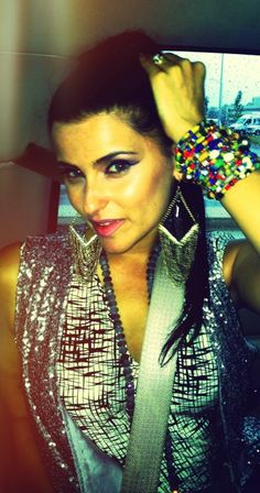 "Nelly Furtado (@NellyFurtado): ""Luv my @realmetowe bracelet -wore it all day long. Awesome quality & made with luv by Kenyan artisan/mamas"" #NellyFurtado #BeautyQueen"