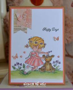 Pop's Cards: Daisy Chain