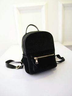 7b2f5de3628f Miss Ying New Fashion Women Mini Velvet Backpack Designer High Quality  Casual Style Travel Backpack School Bag For Teenage Girls
