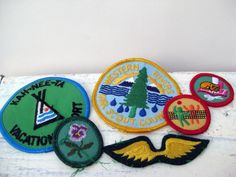 Vintage Girl Scout Patches