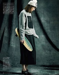 visual optimism; fashion editorials, shows, campaigns & more!: trendsetter's favorite: martyna frankow by takahiro igarashi for elle japan september 2014