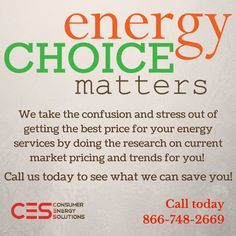 Don't start off the New Year frustrated!   Let us lock in the best rate for your energy bills!  #CES #Energy #NaturalGas #lockitorloseit