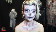 ¿Te gusta este maquillaje? Agenda tu maquillaje para Halloween en El Taller del Pelo. Maquillaje Halloween, Halloween Face Makeup, Artistic Make Up, Hair, Hair, Atelier