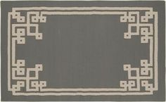 Surya's Alameda Maze Rug in Dove Gray- designed by Beth Lacefield