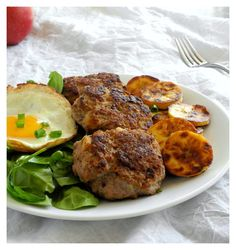 Homemade chicken apple sausage #paleo #whole30
