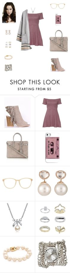 The radio sings our song. It's a love real & true. by hippiedisaster on Polyvore featuring Yves Saint Laurent, Sara Designs, Samira 13, Topshop, MBLife.com and Matthew Williamson