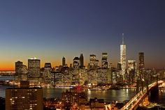New York City Skyline Welcomes the Highest Building in the Western Hemisphere