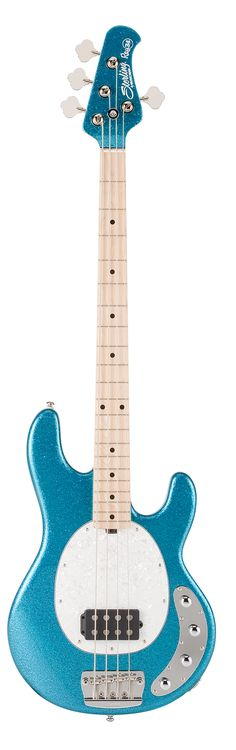 New Blue Sparkle for 2012 Ray34 Bass Series - Welcome to the Sterling by Music Man Website