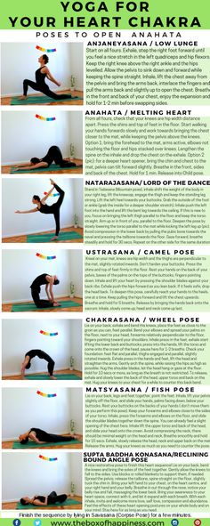 Here is a yoga sequence for your heart chakra. This post is part a series of yoga sequences for the chakras. The heart chakra, Anahata, meaning 'unhurt',