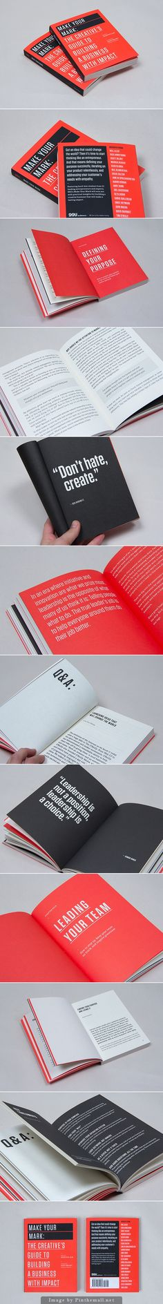 99U Book Design :: Make Your Mark (Vol 3.)
