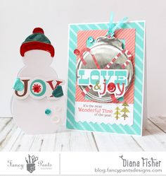 Love and Joy *Fancy Pants* - Scrapbook.com - Made with Fancy Pants Oh Deer collection.