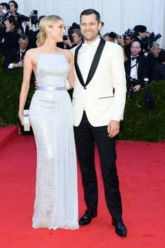 The 20 Most Stylish Couples at the 2014 Met Gala: Diane Kruger and Joshua Jackson