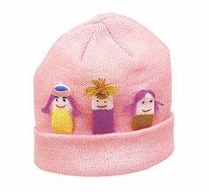 Kidorable Girls Knit Hat $11.50 http://www.meandmyfeet.com/kidorable-girls-knit-hat #Girls #Knit #Hat #Kids #Gifts #Pink