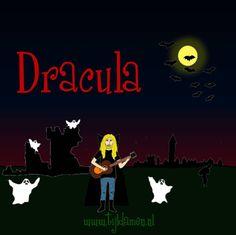 Griezelliedje van Tijl Damen over Dracula / vampiers. Halloweenliedje. Tekst en akkoorden: http://tijldamen.nl/kinderliedjes/griezelen/dracula