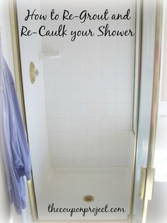 How to Re-Grout and