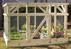 59 DIY Raised Garden Bed Plans & Ideas You Can Build in a Day Want to build a raised bed in your garden? Here's a list of the best free DIY raised garden bed plans and ideas that you can use as a guide or inspiration. Diy Garden, Garden Club, Garden Projects, Garden Landscaping, Home And Garden, Diy Projects, Woodworking Projects, Garden Kids, Kids Woodworking
