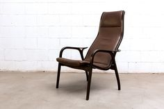 "Yngve Ekstrom ""Lamino"" Arm Chair for Swedese 1956"