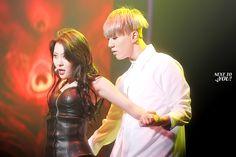 Sunmi and Yugyeom