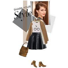 My Style I. by thisislettie on Polyvore featuring Mode, Chicwish, Yves Saint Laurent, Burberry, MARC BY MARC JACOBS, contestentry and PVShareYourStyle
