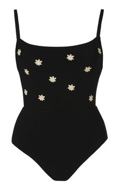 18cc257793 Shop Floral-Embroidered Swimsuit. Anemone s cheeky one-piece swimsuit is  made from floral