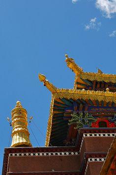 Monastery Architecture . Tibet