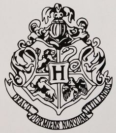 Hogwarts House Crest Vinyl Decal by AllonsyCreations on Etsy