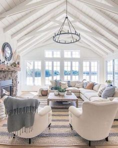 37 Stunning Farmhouse Living Room Lamps Design Ideas And Decor ., 37 Stunning Farmhouse Living Room Lamps Design Ideas And Decor . Style At Home, Country Style Homes, Design Seeds, Living Room Furniture, Living Room Decor, House Furniture, Furniture Projects, Dining Room, Camping Furniture