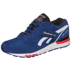 #Reebok #Classic #Herren #Reebok #GL #6000 #PP #Sneaker #Herren #blau - Von einem Laufschuh inspiriert, präsentiert sich der GL 6000 Sneaker aus dem Hause Reebok in einem angesagten neuen Design. Der Obermaterial-Mix, bestehend aus hochwertigem Leder und Mesh, bietet dir besten Tragekomfort und Atmungsaktivität. Der Schuh ist niedrig geschnitten und sorgt für mehr Flexibilität und Bewegungsfreiheit. Die besonders abriebfeste Gummisohle garantiert dir beste Traktion und Strapazierfähigkeit…
