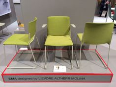 Enea's stand at the 2015 Stockholm Furniture Fair.  #sff205 #sdw2015 #redmembers #design #ema #eneadesign #lievorealtherrmolina #contract #collectivities #seating