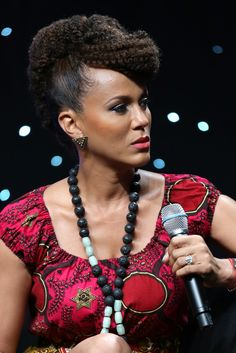 Nicole Ari Parker  The Brown Truth's FB Page and Blog:  www.facebook.com/hairboldacity  www.thebrowntruth.wordpress.com