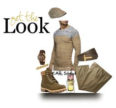 Gents Style Files by kimberlyannhawes on Polyvore featuring Timberland, Victorinox Swiss Army, Dolce&Gabbana, men's fashion and menswear