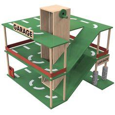 Sur le site Macabann, les bricoleurs peuvent trouver, entre- autres, des plans de jouets à fabriquer. Le garage: Carbag. Crédit Macbann....