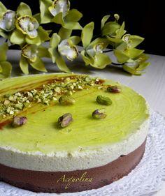 Acquolina- bavarese pistacchio cioccolato